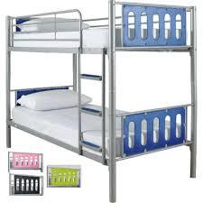 Cyber Metal Framed Bunk Beds For Kids - Kidspace bunk bed