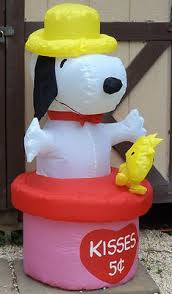 peanuts airblown inflatables gemmy prototype airblown peanuts snoopy