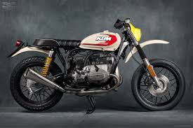 retro martini bmw r65 custom retro motard by mr martini