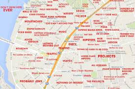 san francisco judgmental map this williamsburg map will probably offend a lot of curbed ny