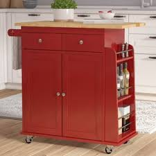 red kitchen island cart red kitchen cart kitchen design