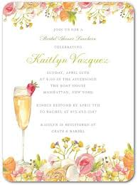 chagne brunch invitations chagne brunch bridal shower invitations partyideapros