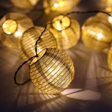 Outdoor Solar Christmas Decorations Uk by Solar Battery Power Cotton Ball Fairy Christmas Wedding Xmas Decor