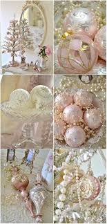 light pink ornaments decor and light