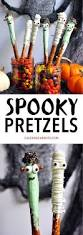 Fun Halloween Appetizer Recipes by Best 25 Halloween Pretzels Ideas On Pinterest Halloween Snacks