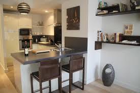 bar de cuisine moderne amenager un bar de cuisine le bar s installe dans la cuisine ouverte