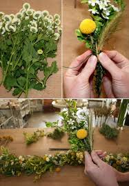 how to make real flower garland my web value