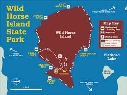 Big Sky Montana Map by Wild Horse Island State Park Maplets