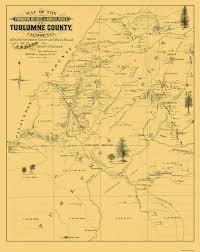 Springfield Illinois Map by Old County Map Tuolumne California Landowner 1878