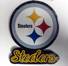 pittsburgh steelers big logo team ornament steel city collectibles
