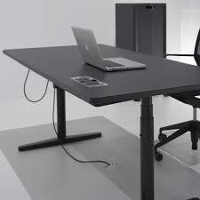 Elektrisch H Enverstellbarer Schreibtisch Tyde Höhenverstellbarer Schreibtisch 180x90cm Vitra