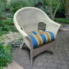 Synthetic Wicker Patio Furniture - north cape naples resin wicker chair white ultimate patio