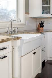 Kitchens With Green Cabinets by Fantastic Farmhouse Sinks Apron Front Sinks In Gorgeous Settings