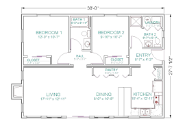 best open floor house plans cottage 35x75 with also 35 75 home