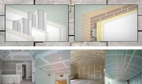 interior division plasterboard
