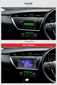 7 inch 2013 toyota auris android 7 1 radio dvd player gps sat navi