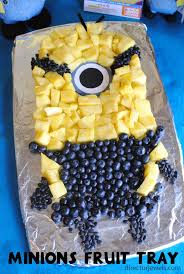 minions party ideas minions fruit tray minions despicable me party ideas at