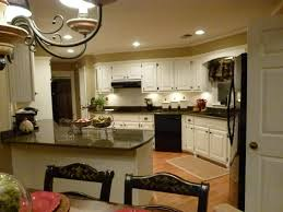 Granite Colors For White Kitchen Cabinets Remodel Complete Tropic Brown Granite Dover White Cabinet Paint