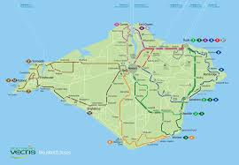 Bus Map Official Map Southern Vectis Bus Map Isle Of Transit Maps
