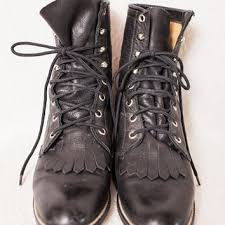 womens boots distressed leather best womens roper boots products on wanelo