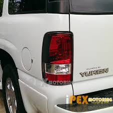 2000 chevy silverado tail light assembly premium 2000 2006 chevy suburban tahoe gmc yukon xl red clear tail
