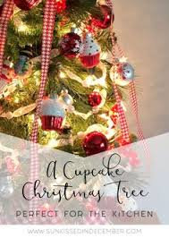 a cupcake tree for the kitchen cupcake ornaments