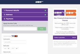 now tv voucher codes u0026 offers december 2017