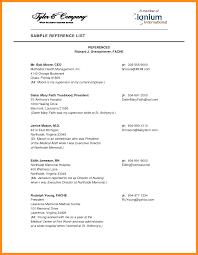 useful professional reference resume sample about stylish