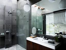 Gray And Brown Bathroom by Simple Bathroom Design Ideas With Brown Wooden Bathroom Vanity And