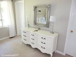 How To Decorate A Mirror Livelovediy Our Master Bedroom The Latest Changes