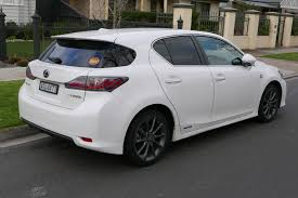 lexus for sale ct file 2011 lexus ct 200h zwa10r f sport hatchback 2015 07 03 02