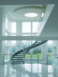 helical stairs glass twe 622 glass stairs from eestairs architonic