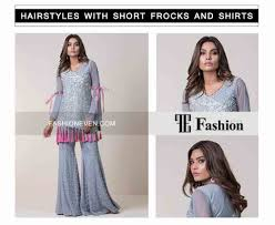 best open hairstyle eid party hairstyles with short frocks shirts