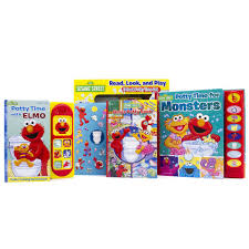 sesame street potty time with elmo read look and play 3 book