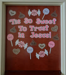 christian bulletin board ideas tis so sweet to trust in