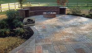 Concrete Ideas For Backyard Stamped Concrete Patio Ideas Gardening Flowers 101 Gardening
