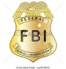 clipart bureau fbi badge clipart