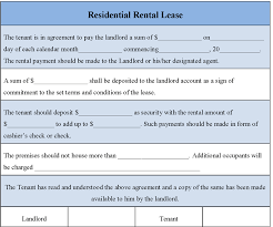free rental lease agreement download 6 free rental agreement templates excel pdf formats