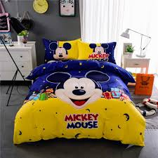 Cheap King Size Bedding Online Get Cheap King Size Mickey Mouse Bedding Aliexpress Com