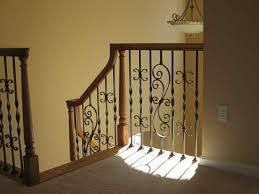 Banister Railing Parts Iron Spindles For Interior Stairs Stair And Staircase Design