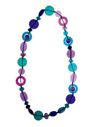 resin beaded necklace images Lolly shoppe 39 resin bead necklace polka luka jpg
