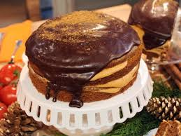 carla hall u0027s pumpkin chocolate cake recipe abc news