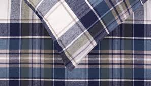 brushed cotton flannel check bed linen discontinued