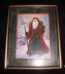 home interior prints santa claus home interiors framed print gw 3 00 ap
