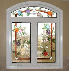 Flower Glass Design 7 Best Floral Stained Glass Images On Pinterest Scotch Stained