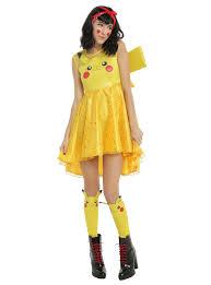 pikachu costume pikachu costume dress hot topic