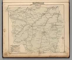 Map Of Virginia And West Virginia by Battelle Magisterial District Monongalia County West Virginia