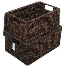 baskets for home decor baskets home decor for less overstock com