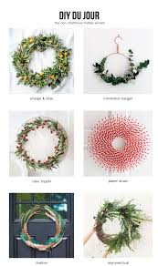 diy du jour the non traditional holiday wreath francois et moi