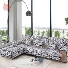 White Sofa Slipcovers by Online Get Cheap Black U0026amp White Sofa Covers Aliexpress Com